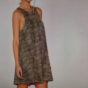 Amuse Society dress Animal print Leopard